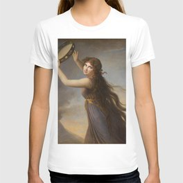 Elisabeth Louise Vigee Le Brun - Lady Hamilton (1761–1815), as a Bacchante T-shirt