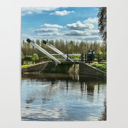 Bridge 221 On The Oxford Canal Poster