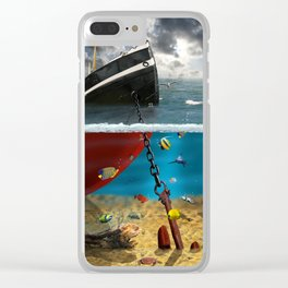 View into the underwater world Clear iPhone Case