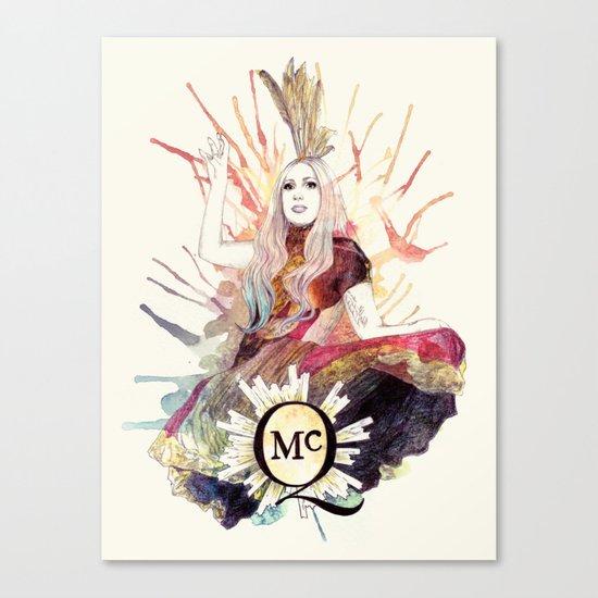 Fashion Of His Love Canvas Print