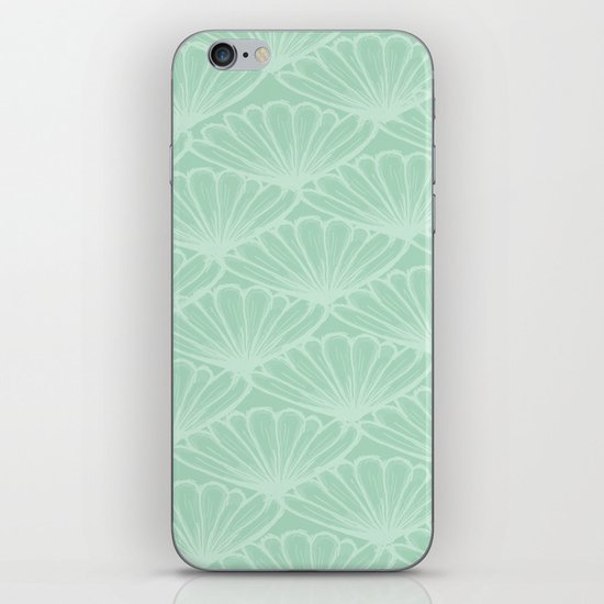 Lady in Mint iPhone & iPod Skin