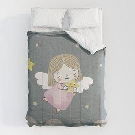 cute angel Comforters