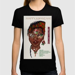 Happy Kwanzaa Gifts and Cards T-shirt