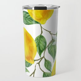 TROPICAL LEMON TREE Travel Mug