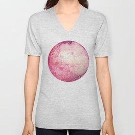 Pink moon Unisex V-Neck