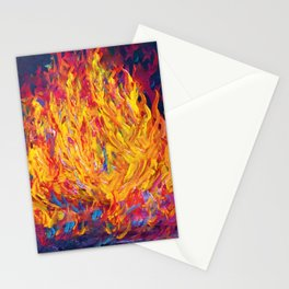 Fire and Passion - Here's to New Beginnings Stationery Cards