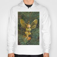 elf Hoodies featuring Winged elf by Svetlana Korneliuk