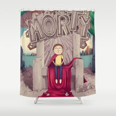 The GOOD Morty Shower Curtain