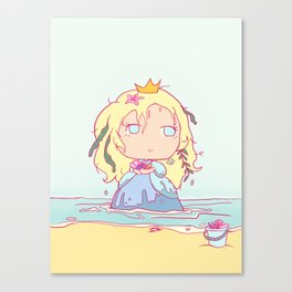 Lil' Sea Princess Canvas Print