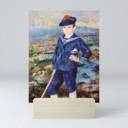 Pierre-Auguste Renoir - Sailor Boy Mini Art Print