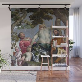 """Veronese (Paolo Caliari) """"Allegory of Love - Infidelity (Unfaithfulness)"""" Wall Mural"""