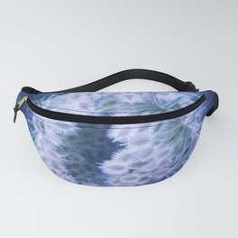 Light Blue Closing Queen Anne's Lace Fanny Pack