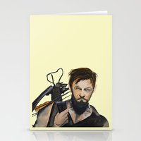daryl Stationery Cards featuring Daryl by Brittany Ketcham