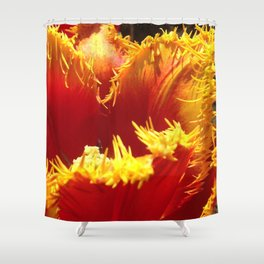 natures fingers Shower Curtain