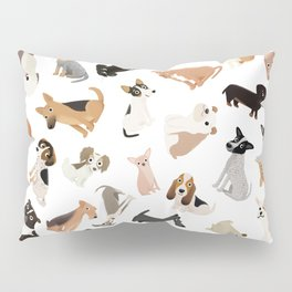 Dog Party Pile Pillow Sham
