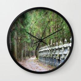 Okunoin Temple Wall Clock