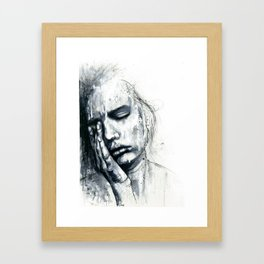 The Weight Framed Art Print