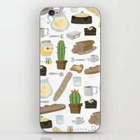 bread iPhone & iPod Skins featuring Bread by Ceren Aksu Dikenci