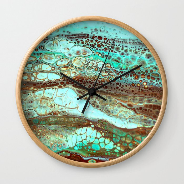 Abstract Annemarie Wall Clock