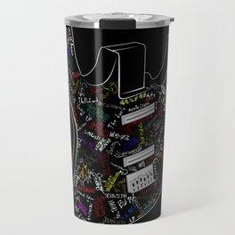 Guitar of fame: Drawing version Travel Mug
