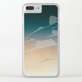 Endless Sky Clear iPhone Case