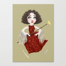 Winged Queen Canvas Print
