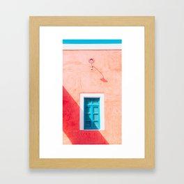 Afternoon in Santorini Framed Art Print