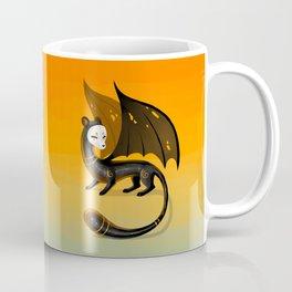 Black Stoat Coffee Mug