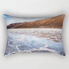 Badwater Reflections Rectangular Pillow
