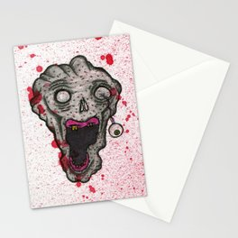 Undead Head Stationery Cards