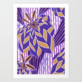 BAYAMO: MYSTERIAN, Art Deco Tropical Art Print