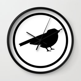 The Sparrows Wall Clock