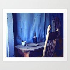 Dinner Is Served Art Print