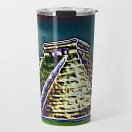 Chichen Itza Storm Travel Mug