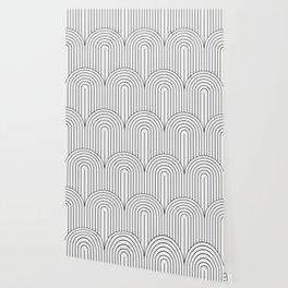 Art Deco Arch Pattern IX Wallpaper