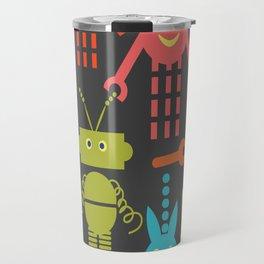 Robots pattern F41 Travel Mug