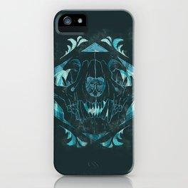 Cat Skull iPhone Case