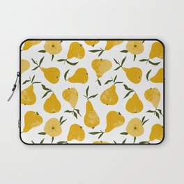 Yellow pear Laptop Sleeve