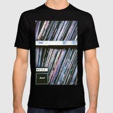 Vinyl Baby MEDIUM Black Mens Fitted Tee