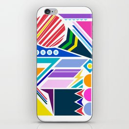 Geo Splash iPhone Skin