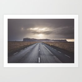 Route 1 - Landscape and Nature Photography Art Print