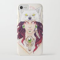 mononoke iPhone & iPod Cases featuring Mononoke by Electricalivia