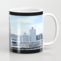 coke Mugs featuring Industrial Coke by Vorona Photography