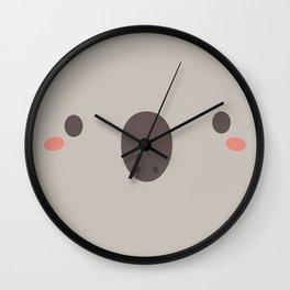 Kawaii Cute Koala Wall Clock