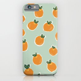 Tiny Clementines iPhone Case