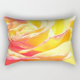 Love and Peace Pastel Rose Rectangular Pillow