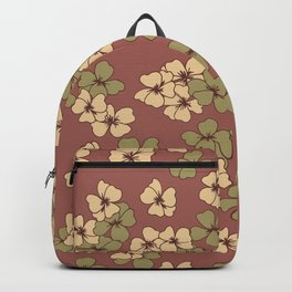 Floral Patches Surface Pattern Design Backpack