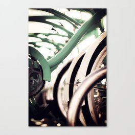 Vintage Bikes Canvas Print