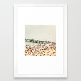 The Summers we leave behind Framed Art Print