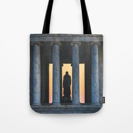 Between the Columns Tote Bag